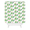 DENY Designs Andi Bird Help Me Holiday Shower Curtain