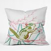 DENY Designs Betsy Olmsted Holiday Chipmunk Throw Pillow