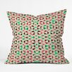 DENY Designs Caleb Troy Holiday Tone Shards Throw Pillow