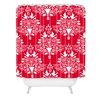 DENY Designs Jacqueline Maldonado Christmas Paper Cutting Shower Curtain