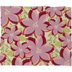 DENY Designs Andrea Victoria Twinkle and Shine Plush Fleece Throw Blanket