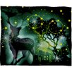 DENY Designs Randi Antonsen Nordic Light Plush Fleece Throw Blanket