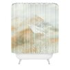 DENY Designs Caleb Troy Banff Gold Painted Christmas Shower Curtain