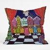 DENY Designs Renie Britenbucher Christmas Angel Throw Pillow