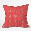DENY Designs Ingrid Padilla Flakes A Flutter Throw Pillow
