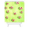 DENY Designs Rosie Brown Christmas Candy Shower Curtain