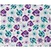 DENY Designs Zoe Wodarz Dreidel Facets Plush Fleece Throw Blanket