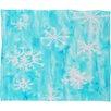 DENY Designs Rosie Brown Snowing Plush Fleece Throw Blanket