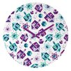 DENY Designs Zoe Wodarz Dreidel Facets Wall Clock