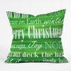 DENY Designs Sophia Buddenhagen Christmas Throw Pillow