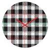 DENY Designs Zoe Wodarz Cozy Cabin Wall Clock