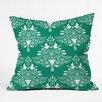 DENY Designs Jacqueline Maldonado Christmas Paper Cutting Throw Pillow