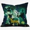 DENY Designs Randi Antonsen The Nordic Night Throw Pillow