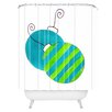 DENY Designs Laura Trevey Tis The Season Shower Curtain