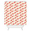 DENY Designs Allyson Johnson Santa Hats Shower Curtain
