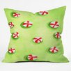 DENY Designs Rosie Brown Christmas Candy Throw Pillow