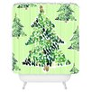 DENY Designs Cayenablanca Smells Like Christmas Shower Curtain