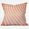DENY Designs The Light Fantastic Houndstooth Polaroid Throw Pillow