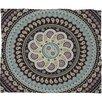 DENY Designs Belle13 Mandala Paisley Throw Blanket