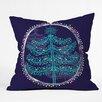 DENY Designs Rachael Taylor Decorative Tree Throw Pillow