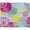 DENY Designs Rachael Taylor Snowflake Stems Plush Fleece Throw Blanket