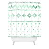 DENY Designs Social Proper Holiday Sweater Shower Curtain