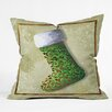 DENY Designs Madart Inc. Vintage Stocking Throw Pillow