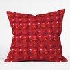 DENY Designs Julia Da Rocha Christmas Trees Throw Pillow