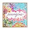 DENY Designs Imagine 1 by Garima Dhawan Framed Graphic Art