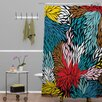 DENY Designs Khristian A Howell Woven Polyester Nolita Cover Shower Curtain