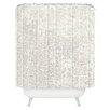 DENY Designs Social Proper Snowballs Shower Curtain