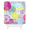DENY Designs Rachael Taylor Snowflake Stems Shower Curtain