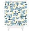 DENY Designs Zoe Wodarz Holiday Lights Shower Curtain