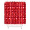 DENY Designs Julia Da Rocha Christmastrees Shower Curtain