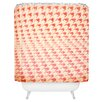 DENY Designs The Light Fantastic Houndstooth Polaroid Shower Curtain