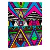 DENY Designs Tribal 1 by Kris Tate Graphic Art on Wrapped Canvas