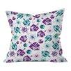 DENY Designs Zoe Wodarz Dreidel Facets Throw Pillow