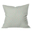 DENY Designs Tammie Bennett X Check Throw Pillow