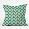DENY Designs Allyson Johnson Classic Emerald Indoor/outdoor Throw Pillow