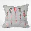 DENY Designs Iveta Abolina Feathers Throw Pillow