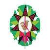 DENY Designs Zoe Wodarz Geo Pop Wreath Wall Clock