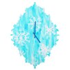 DENY Designs Rosie Brown Snowing Wall Clock