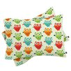 DENY Designs Andi Bird Owl Fun Pillowcase