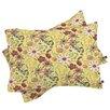 DENY Designs Pimlada Phuapradit Canary Floral Pillowcase