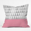 DENY Designs Georgiana Paraschiv Triangles Throw Pillow