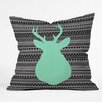 DENY Designs Allyson Johnson Deer and Aztec Throw Pillow