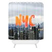 DENY Designs Chelsea Victoria NYC Skyline Polyester Shower Curtain