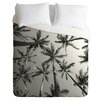 DENY Designs Bree Madden Palms Lightweight Duvet Cover