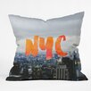 DENY Designs Chelsea Victoria NYC Skyline Throw Pillow