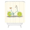 DENY Designs Florent Bodart Acid Polyester Shower Curtain